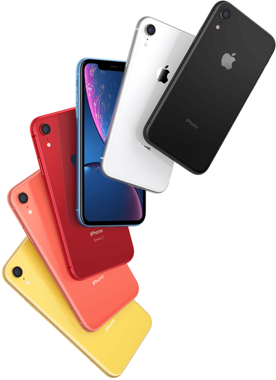 Coloris iPhone Xr Apple
